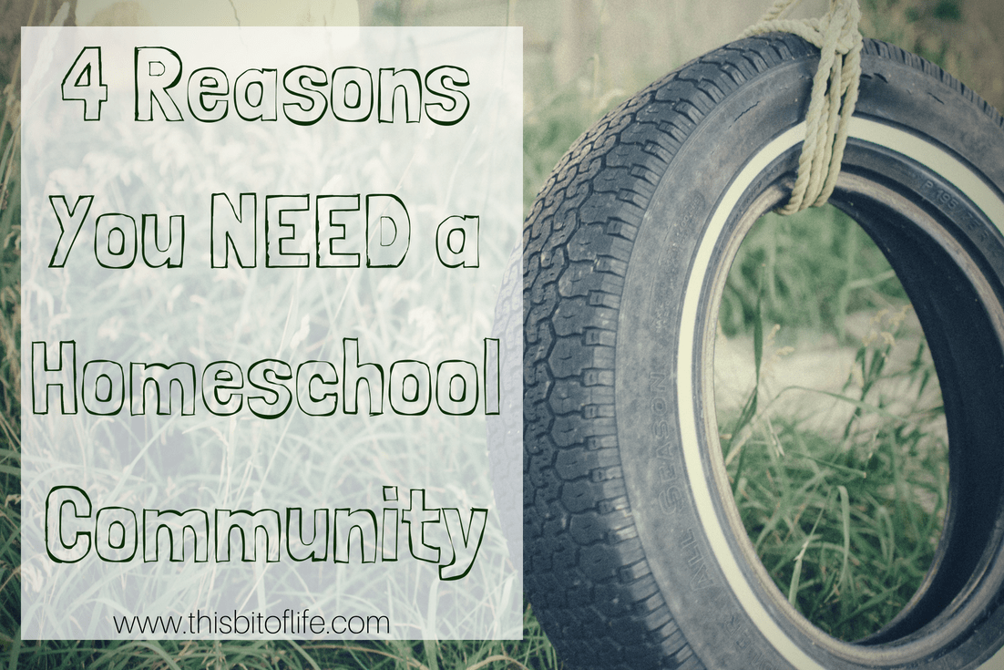 4 Reasons you need a homeschool community