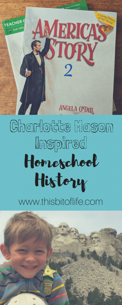 Charlotte Mason Inspired Homeschool History Curriculum. America's Story 2 is my favorite history we've done so far! #homeschoolhistory #americanhistory #charlottemason