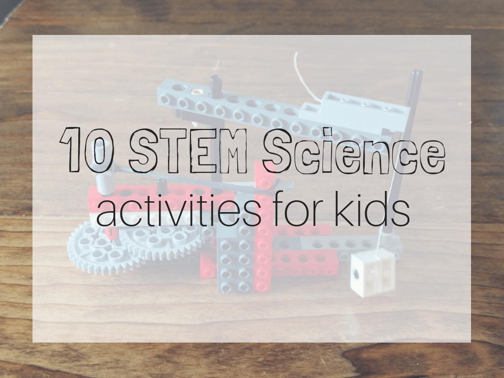 stem science kids