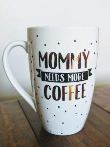 Homeschool Mom coffee cup