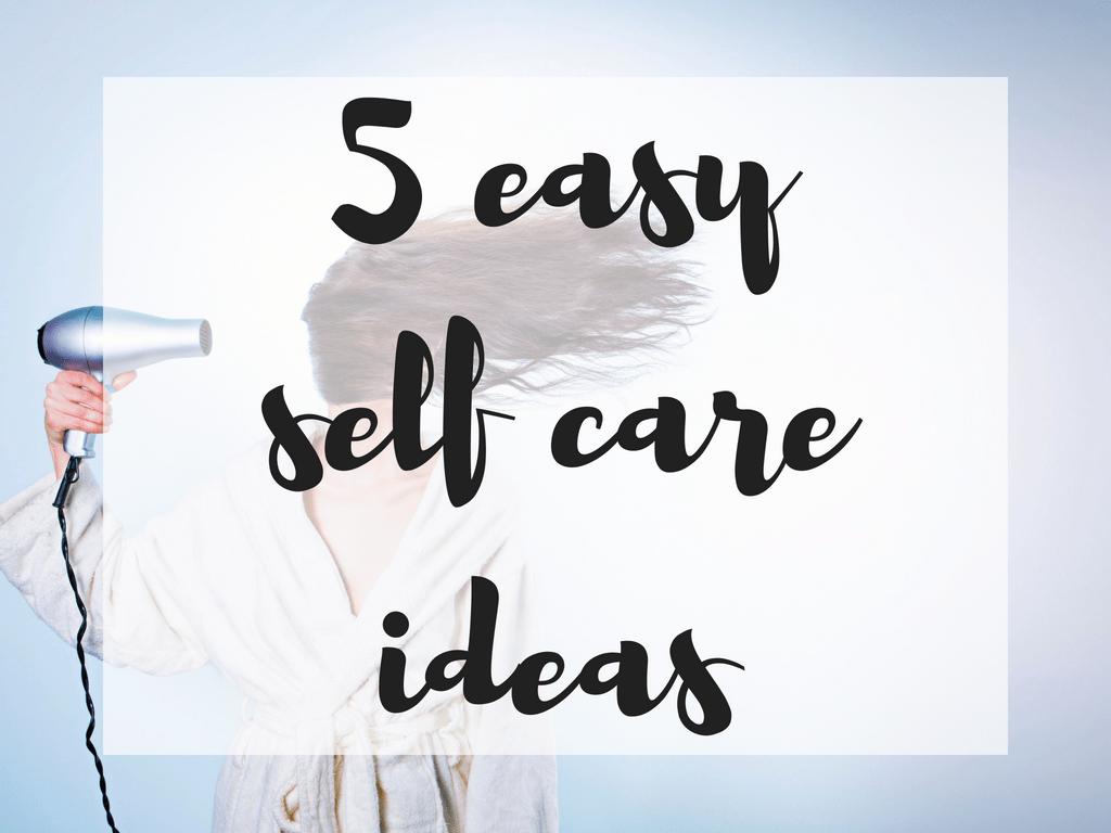 5 easy self care ideas for the homeschool mom