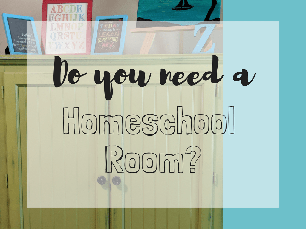 Do you need a homeschool room? Having a homeschool room is great and there are so many options! #homeschoolroom #homeschool