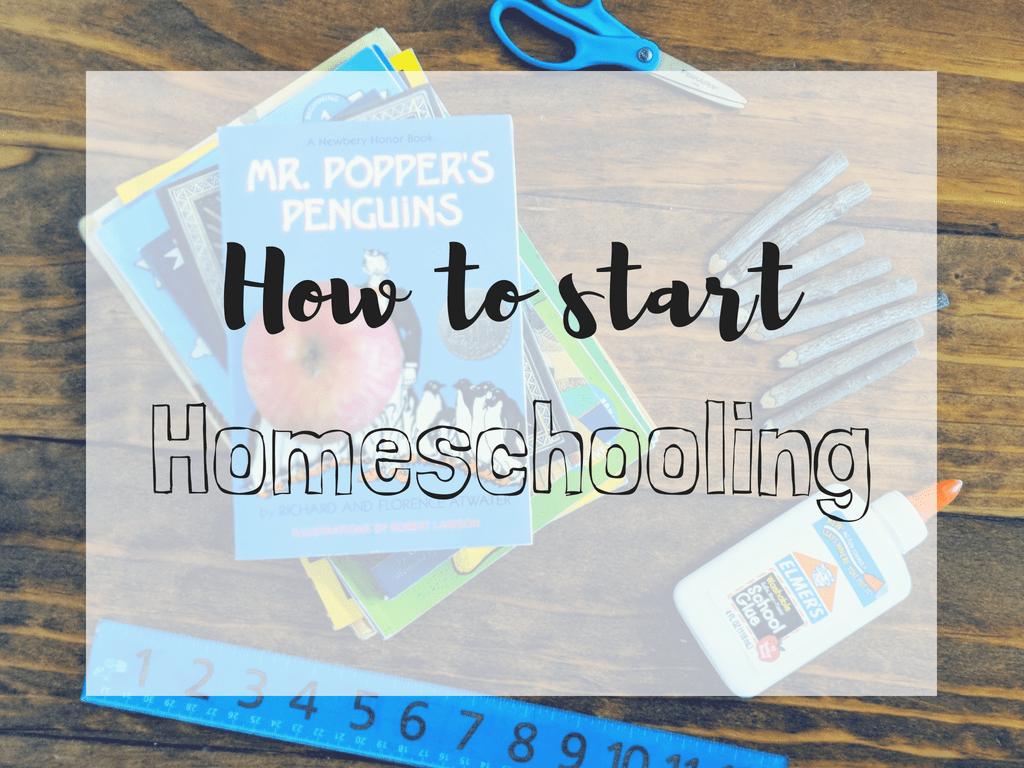 Learn how to start homeschooling with six tips on how to get started. #homeschooling #homeeducation #starthomeschooling
