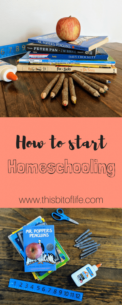 How to start homeschooling. Six tips to get your homeschool started on the right foot! #homeschooling #homeschool #starthomeschooling
