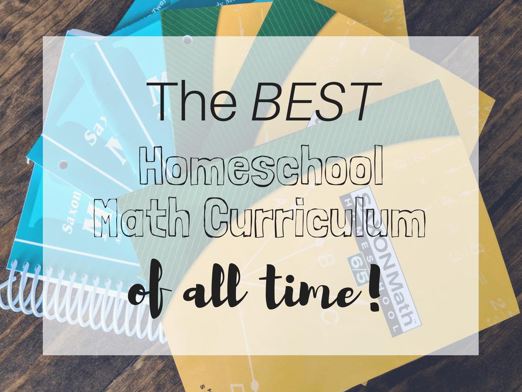 the best homeschool math curriculum