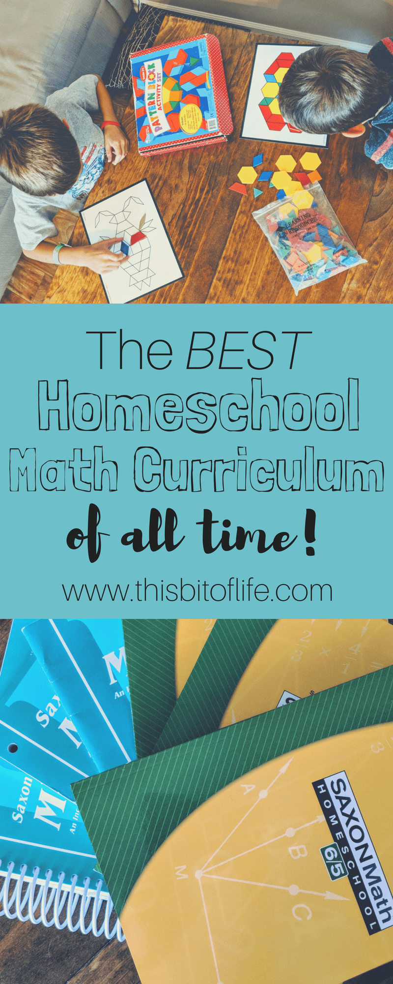The BEST homeschool math curriculum of all time! Find out why Saxon math is the best math curriculum and why we love it so much in our homeschool. #homeschoolmath #saxonmath #mathcurriculum
