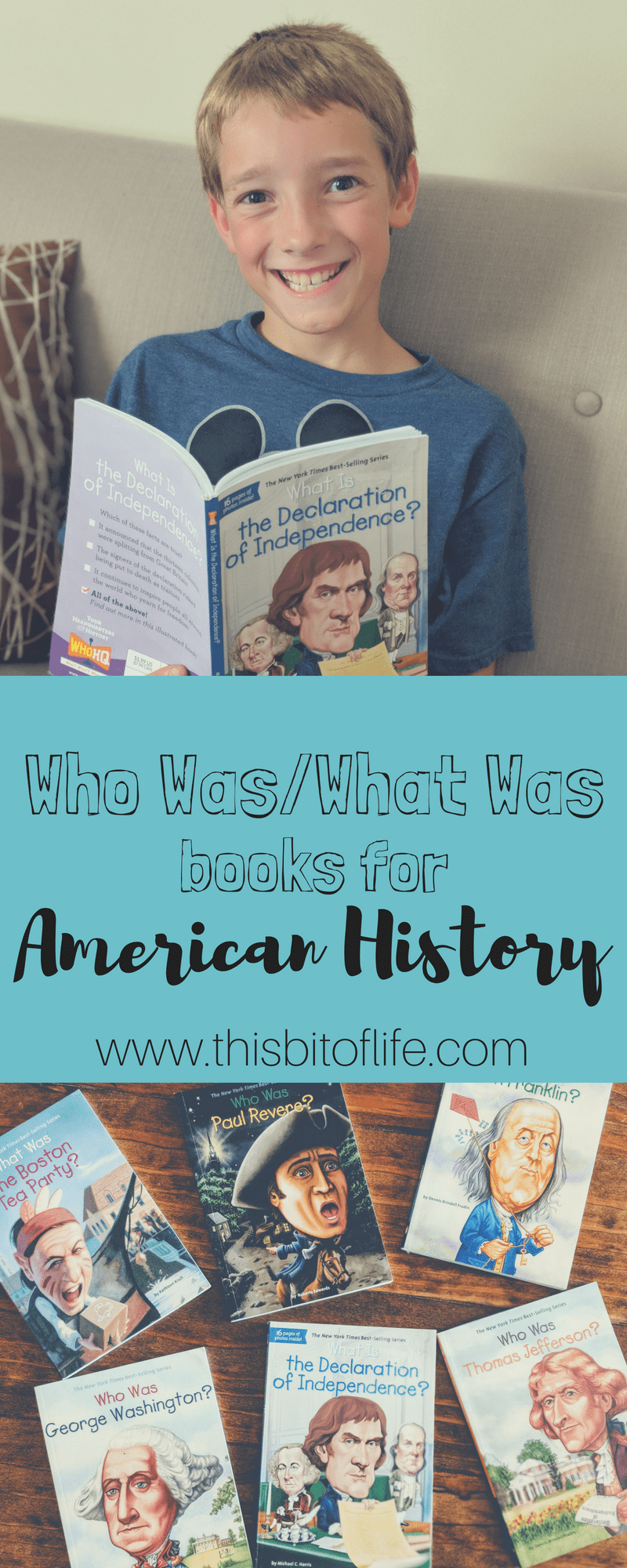 Using Who Was Book Series for American History. This was a FUN history curriculum for my kids! #Americanhistory #whowasbooks #homeschoolhistory