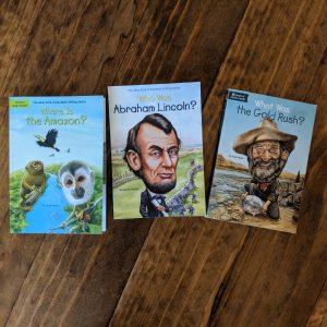 WhoHQ Books