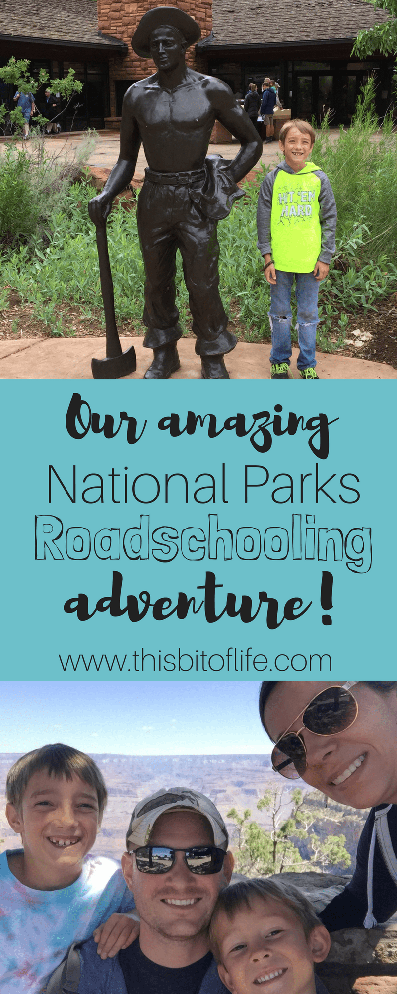 Our amazing National parks Roadschooling adventure! We visited so many amazing places in our beautiful country! #roadschooling #homeschooling #travel