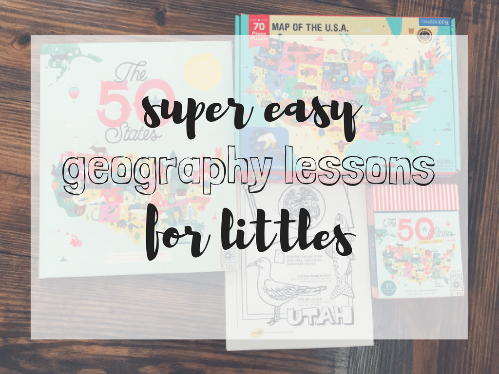 easy geography homeschool lessons