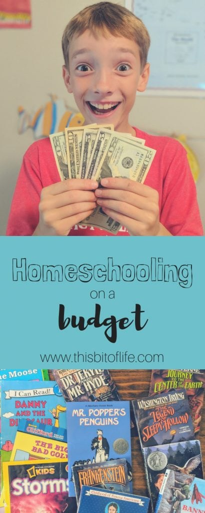 How do you homeschool on a budget? Homeschooling can be expensive, but here are some ways you can afford to homeschool and to work on a budget! #budget #homeschooling #homeschool #pennypinching