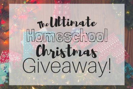The Ultimate Homeschool Christmas Giveaway! I'm doing twelve days of giveaways and gifting homeschool goodies each day! Win homeschool curriculum, homeschool books, and so much more in my homeschool Christmas giveaway! #giveaway #homeschoolgiveaway #12daysofgiveaways #homeschoolmom #homeschool #homeschoolcurriculum #homeschooling #christmas #christmasgiveaway
