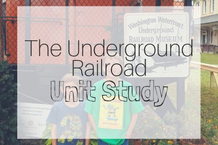 underground railroad unit study