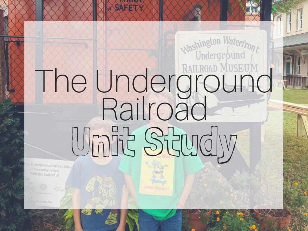underground railroad unit study