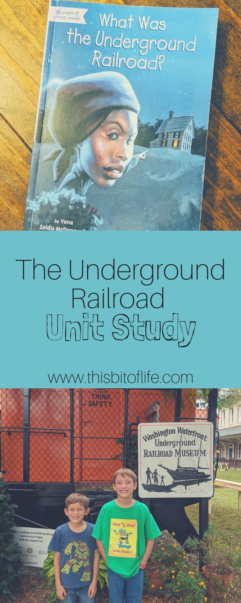 the underground railroad unity study