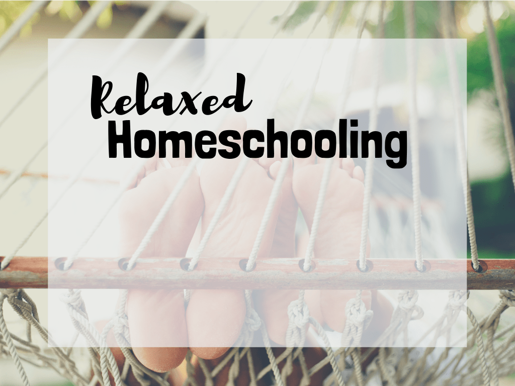 relaxed homeschooling homeschool method