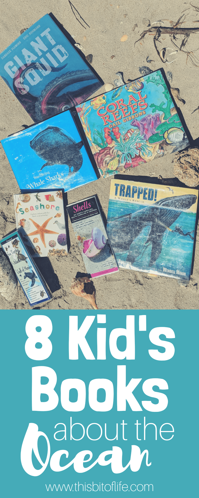 8 Kid's Books About the Ocean. We dove into reading in our homeschool this past month and learned all about the ocean. From coral reefs, to sea creatures, and everything in between! #homeschool #reading #ocean