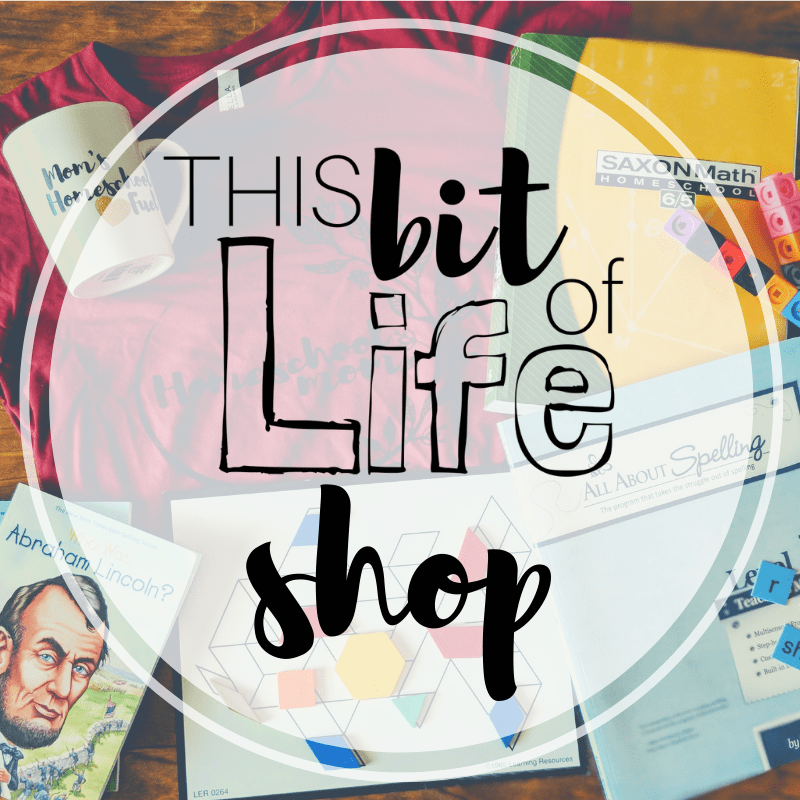 This Bit of Life curriculum shop. See my favorite homeschool curriculum! #curriculumshop #homeschooling #homeschoolcurriculum