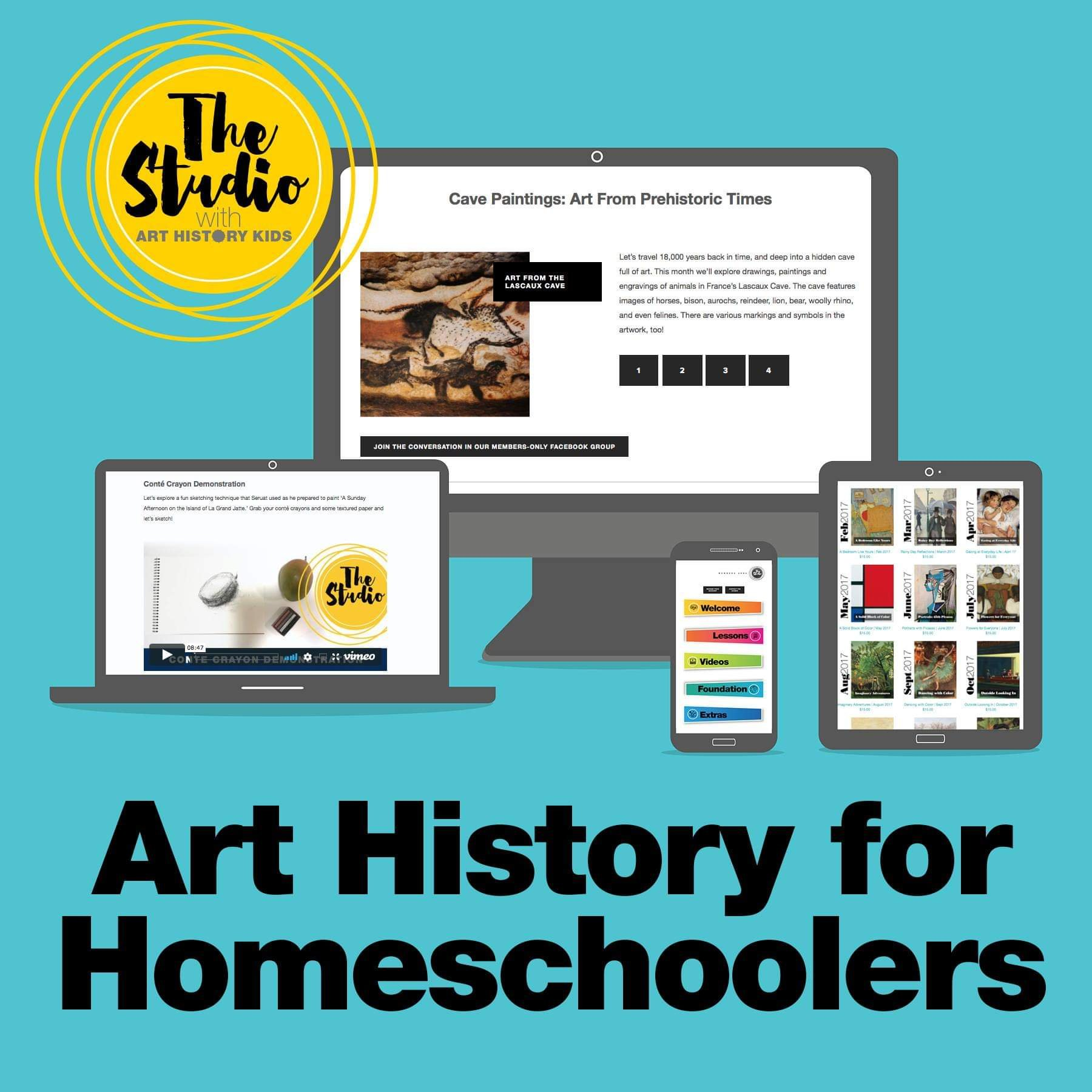 art history kids art history for homeschoolers