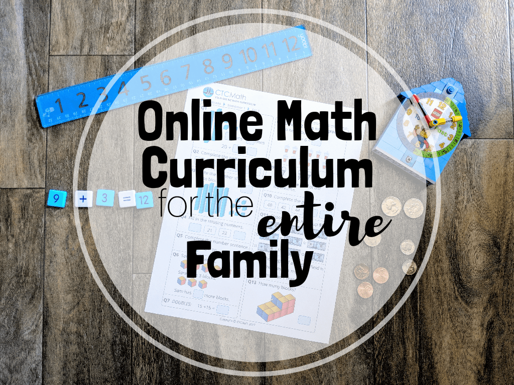 online math curriculum CTCMath