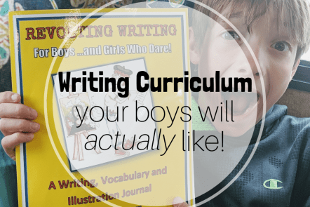 writing curriculum for boys