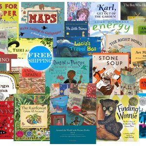 around the world with picture books 2 beautiful feet books