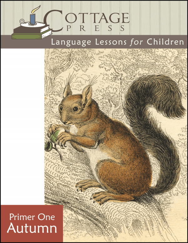 Cottage Press Language Lessons for Children Primer 1