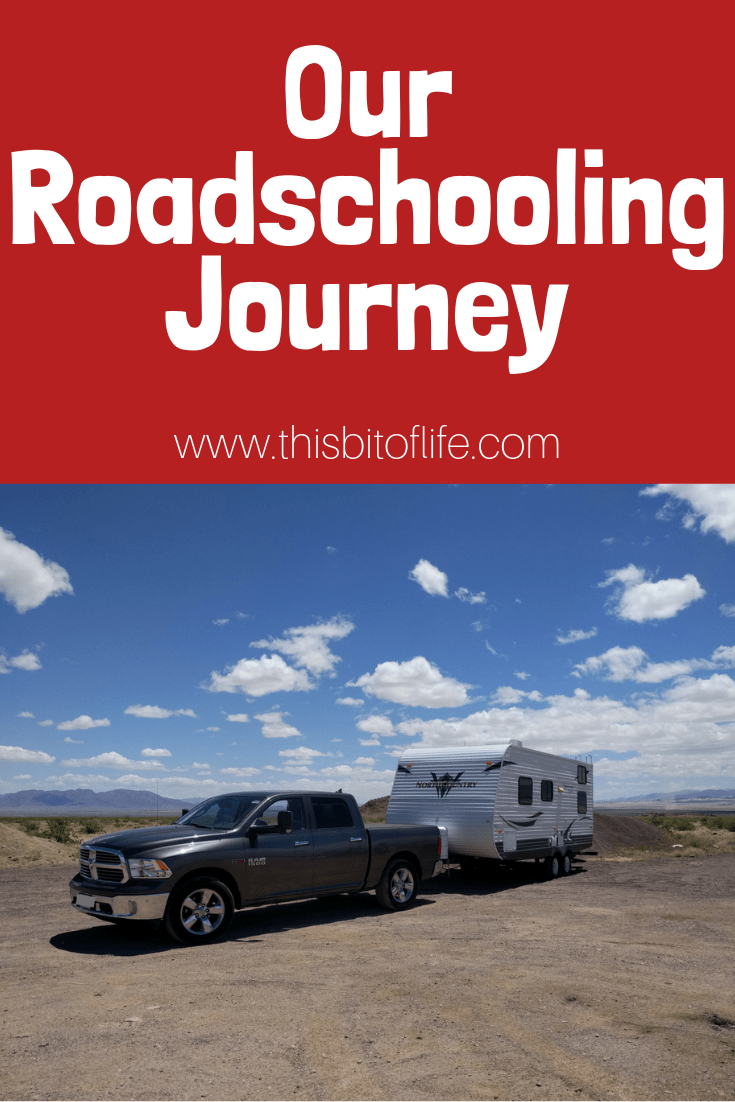 Our Roadschooling Journey. How we use our travels to educate our children in our homeschool. #roadschooling #homeeducation #rvlife