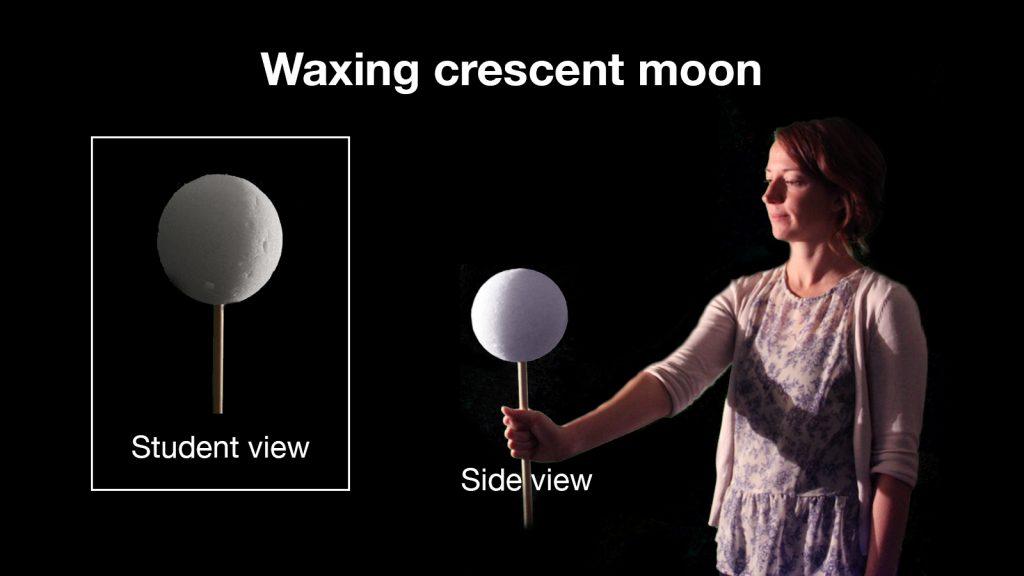 moon phases activity from NASA