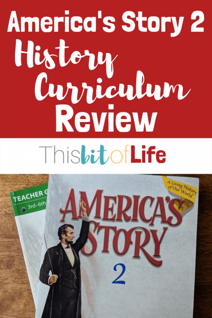 Charlotte Mason Inspired Homeschool History Curriculum. America's Story 2 is my favorite history we've used in our homeschool #homeschoolhistory #americanhistory #charlottemason