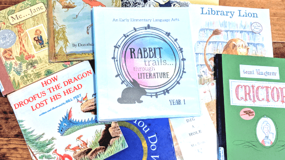 rabbit trails through literature language arts