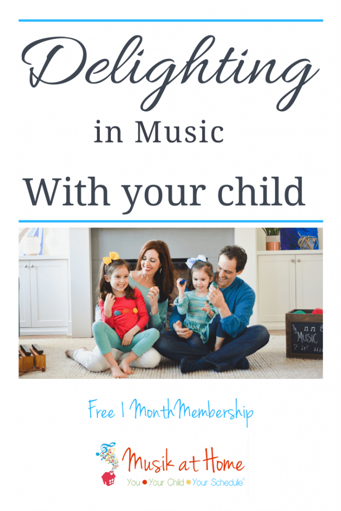 Delighting in music with your child.What Your Child Really Needs: Savoring Homeschool Moments with Music Education #homeschoolmusic #musiceducation