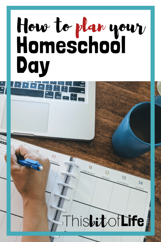 Feeling lost on how to create a homeschool plan? I will walk you through how I plan for our homeschool and how to fit all of our curriuclum in easily! #homeschoolplanning  #planyourhomeschoolday #homeschooling #planning
