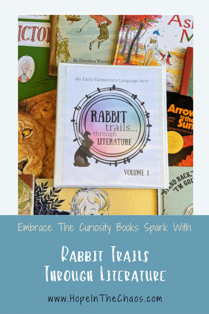 Embrace the Curiosity Books Spark with Rabbit Trails through Literature