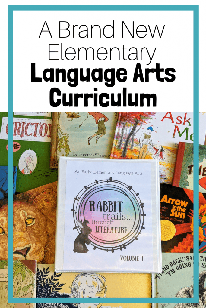 Rabbit Trails through Literature is an elementary language arts curriculum that uses quality literature as it's spine! Charlotte Mason-inspired and relaxed in nature, this curriculum is the perfect language arts to add to your homeschool. #rabbittrails #charlottemason #languagearts #languageartscurriculum