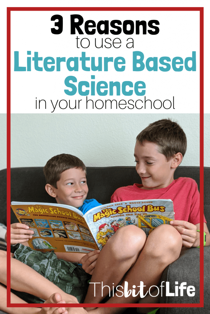 3 Reasons to use a Literature Based Science in your Homeschool. Come see what those reasons are and how BookShark Science helped us achieve this in our homeschool. #BookShark #ScienceCurriculum #literaturebasedscience #literaturebasedcurriculum