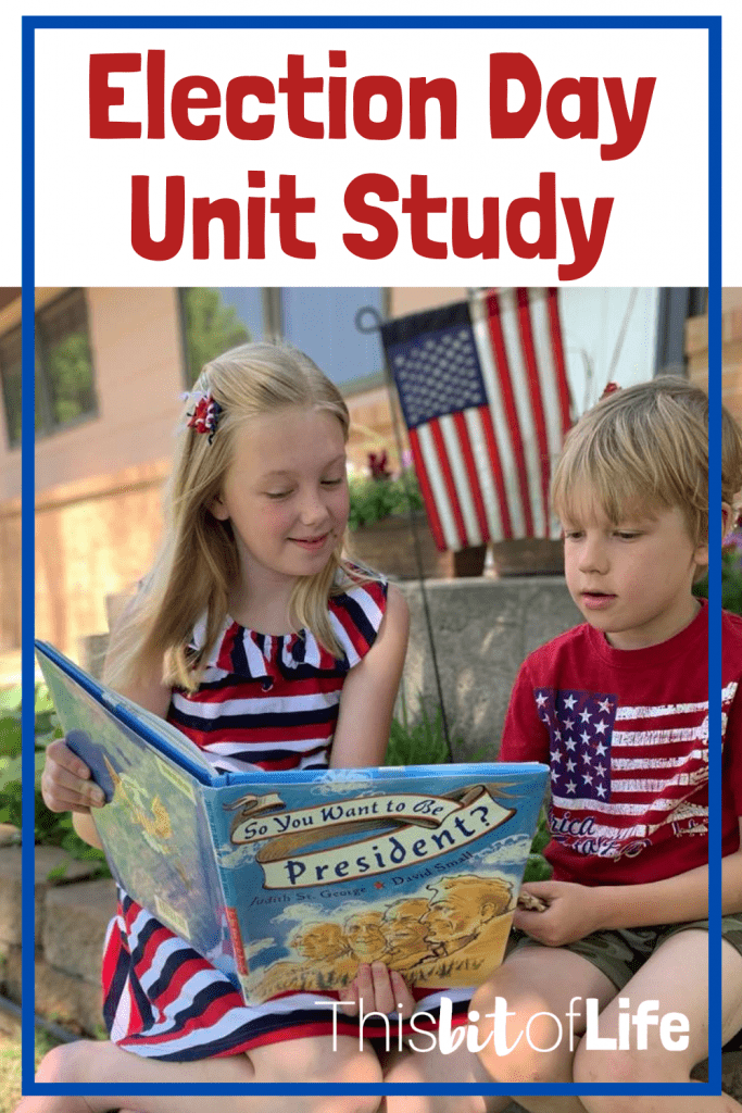 Incorporate Every Subject with this Election Day Unit Study! This election day, have a fun day of learning in your homeschool! Learn about the election across all subjects and have FUN while doing it! #electiondayunitstudy #unitstudy #electionday