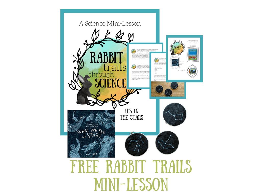 constellation lesson rabbit trails