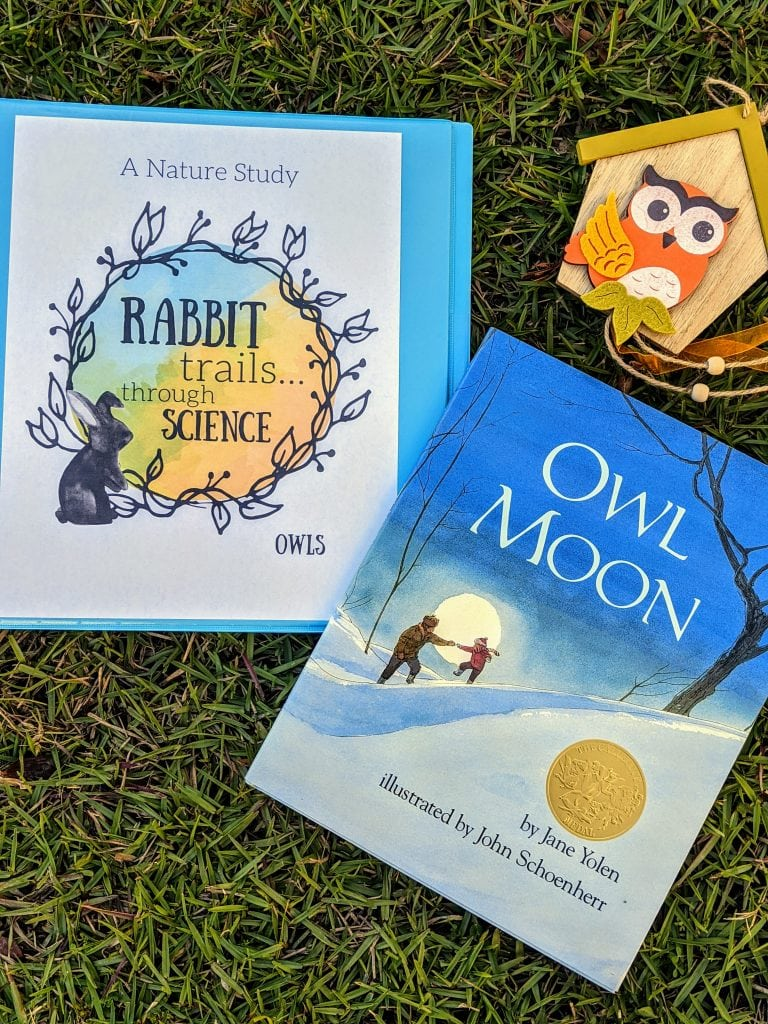 Rabbit Trails through Science Owls is a Charlotte Mason Inspired science lesson with copywork, real books, hands on activities, vocabulary, and lots of rabbit trails into learing!