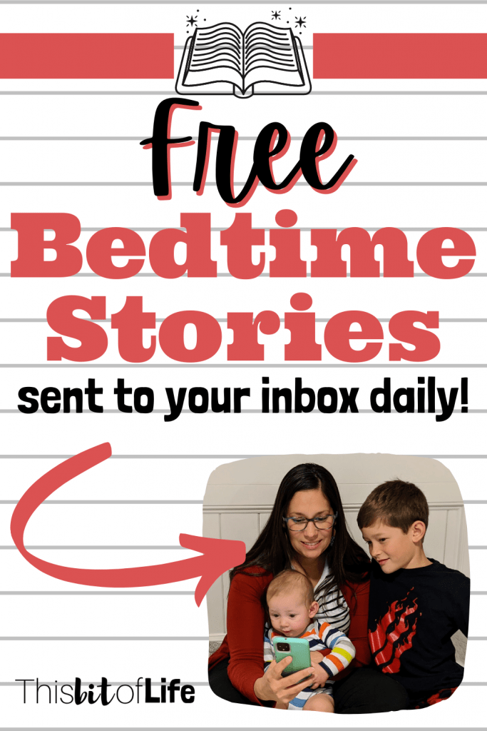 Free bedtime stories sent to your inbox daily. nighttime routine. reading with kids. homeschool reading. read alouds. reading curriculum. homeschool reading curriculum.