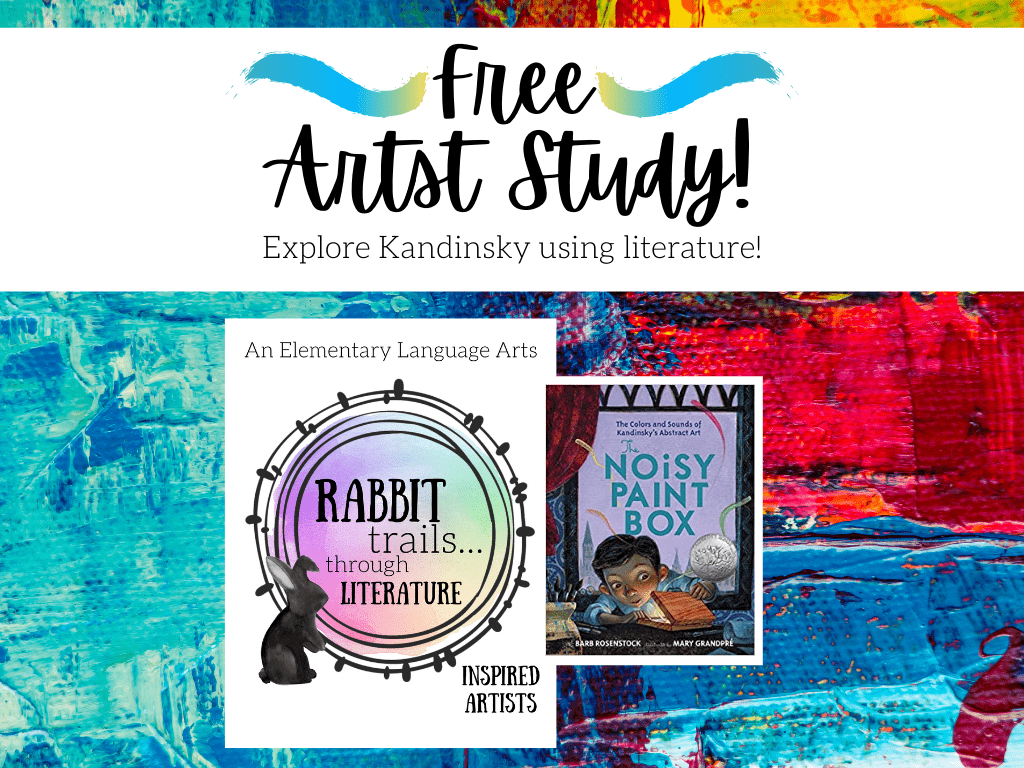 Free Artist Study from Rabbit Trails through Literature! free homeschool art lesson. Free homeschool art study. Free homeschool language arts lesson. homeschool language arts. homeschool literature. Charlotte mason inspired language arts. charlotte mason inspired curriculum. language arts curriculum for homeschool. art curriculum for homeschool #homeschooling #languagearts #artstudy
