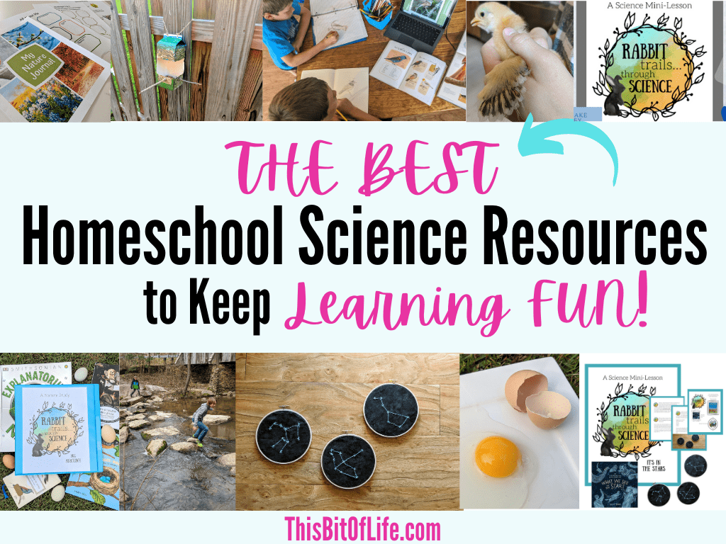 best homeschool science resources