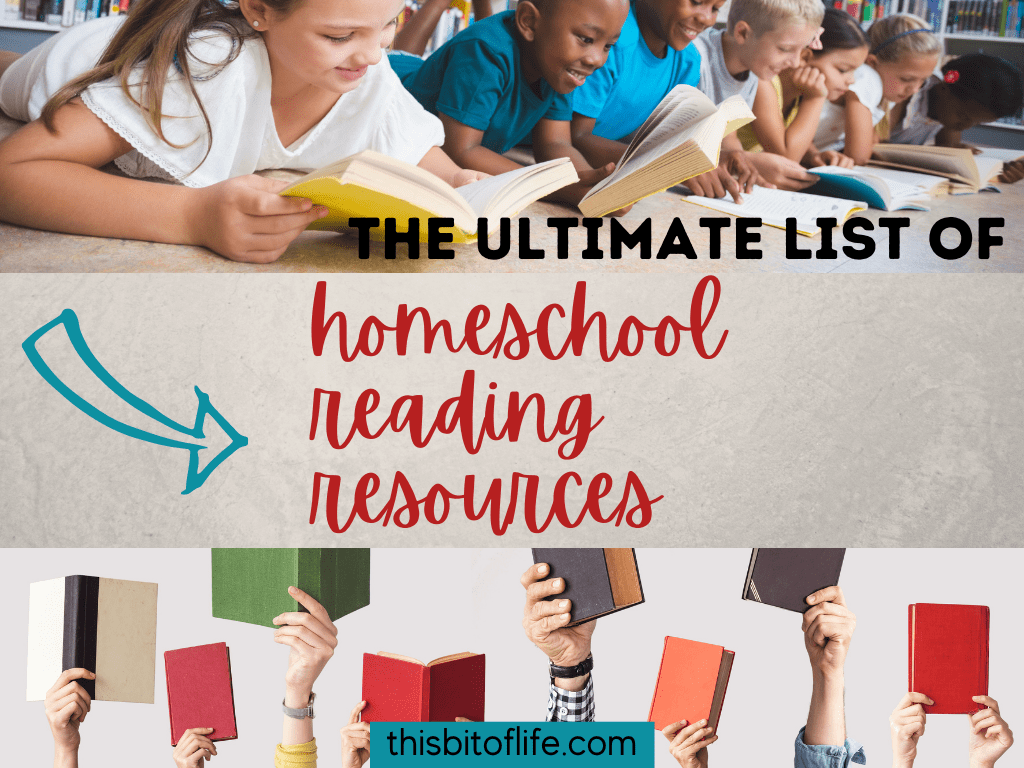 homeschool reading resources