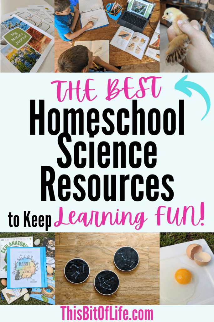 The Best homeschool science resources to keep learning fun! Homeschool science curriculum. The Best Homeschool science curriculum. Science curriculum for your homeschool. Fun science curriculum. Homeschool science resources. #science #homeschoolscience #sciencecurriculum