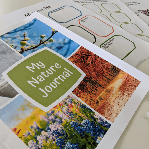 my nature journal. Explore nature as a family through all of the seasons