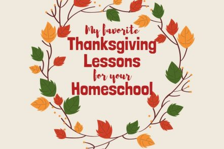my favorite thanksgiving lessons for your homeschool
