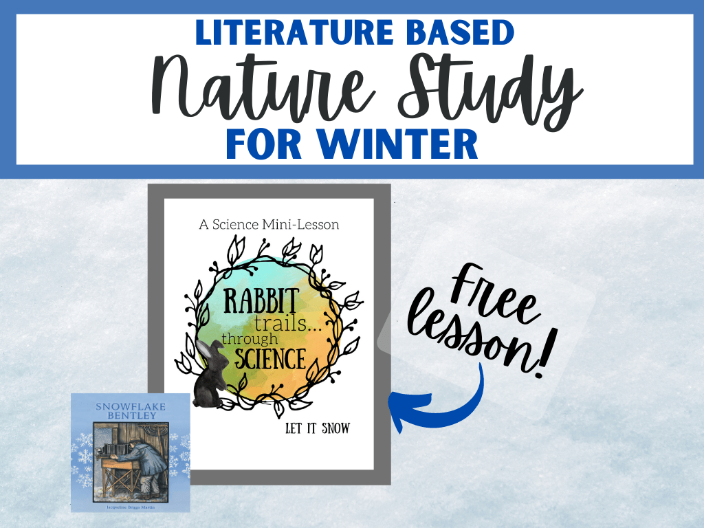 free winter unit study, free winter lesson, free homeschool lesson, winter unit study, rabbit trails through science, free rabbit trails lesson