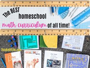 The best homeschool math curriculum of all time!