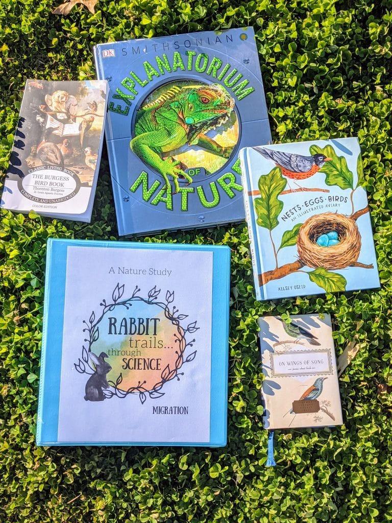 learn about nature with Rabbit Trails through Science!