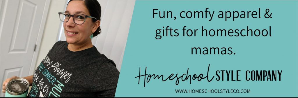 homeschool apparel for homeschool moms and families from homeschool style co!
